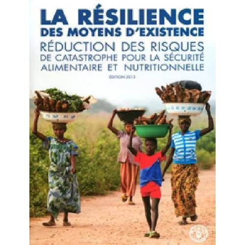 Le Resilience Des Moyens D'existence La Prevention Des Risques De Catastrophe Pour La Securite Alimentaire Et Nutritionelle