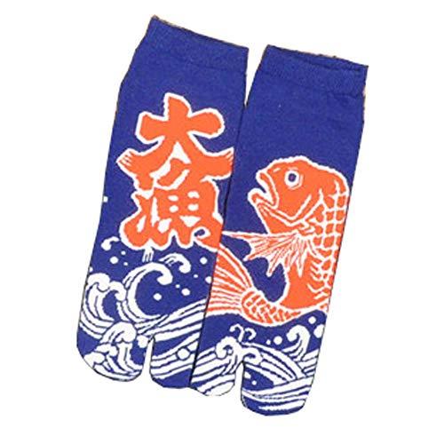 Fancy Pumpkin Kimono estilo japonés sandalia Split
