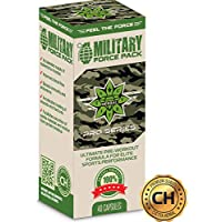Preisvergleich für Military force pack 40 capsules | Pre-workout formula | Cvetita Herbal | Innovative Formel aus 7 zutaten - Arginin...