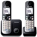 Panasonic KX-TG6812GB nero - Cordless Standard - Duo