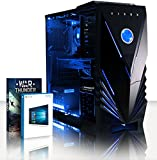 VIBOX Gaming PC - Momentum 10 - 4.0GHz AMD FX 4-Core CPU, Geforce GTX 1060, VR Ready, Extreme, High Performance, Super Fast, Desktop Computer with Game Bundle, Windows 10 OS, Blue Internal Lighting and Lifetime Warranty* (Super Fast AMD FX 4300 Quad 4-Core CPU Processor, Nvidia GeForce GTX 1060 3GB Graphics Card, 8GB DDR3 1600MHz High Speed RAM Memory, 2TB (2000GB) Sata III 7200rpm Hard Drive HDD, Aerocool 600W 85+ PSU Power Supply, Vibox Tactician Blue LED Gaming Case, AM3+ Motherboard)