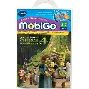 Vtech - 250005 - Console - Jeu Mobigo - Shrek 4