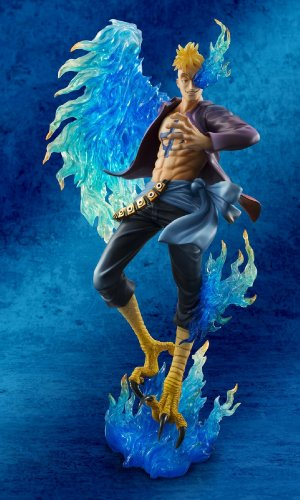 Megahouse One Piece Portrait of Pirates: Marco The Phoenix Excellent Model MAS PVC Figure 2