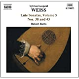 Sonatas for Lute Vol. 5, Nos. 38 and 43 (Barto)
