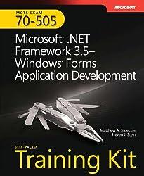 MCTS Self-Paced Training Kit (Exam 70-505): Microsoft?? .NET Framework 3.5 - Windows?? Forms Application Development (Microsoft Press Training Kit) by Matthew A. Stoecker (7-Mar-2009) Paperback