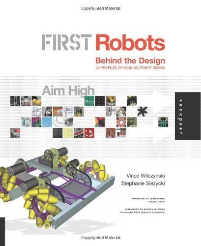 FIRST Robots: Aim High: Behind the Design by Vince Wilczynski Published by Rockport Publishers (2007) Hardcover