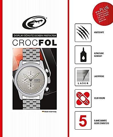 4x CROCFOL® PLUS EDGE   Unsichtbare Schutzfolie für Uhren 25mm