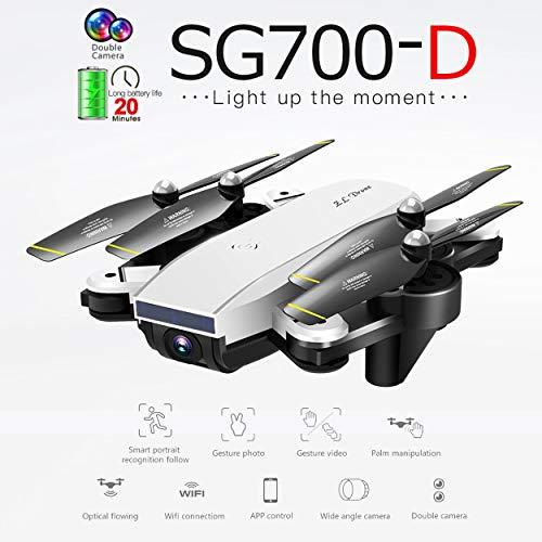 Lorenlli Para SG700-D Drone Plegable con 1080P HD Full Camera Profesional Smart Seguir posicionamiento de Flujo óptico VS S20 Drone
