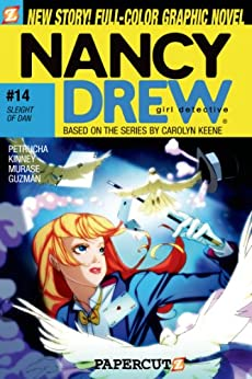Nancy Drew #14: Sleight of Dan: Sleight of Dan v. 14 (Nancy Drew Graphic Novels: Girl Detective) by [Petrucha, Stefan, Kinney, Sarah]