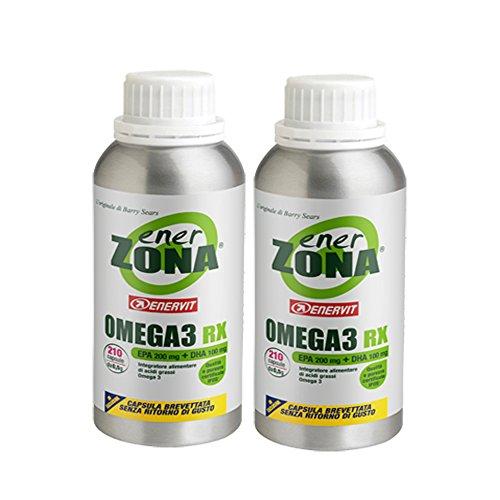 Enervit Enerzona Integratore Alimentare Omega 3 RX, 210 compresse (2)