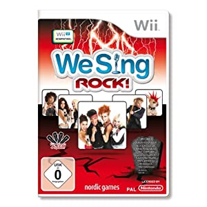 We Sing Rock! (Standalone) – [Nintendo Wii]