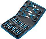 Draper 48958 - Set pinze di precisione e cacciaviti, 16 pezzi