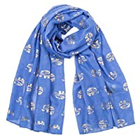 Clearance! MILL.GD88 Scarf for Women丨 Winter Women Lady Hot Stamping Elephant Cartoon Pattern Scarf Wrap Shawl⭐⭐⭐⭐⭐ Red