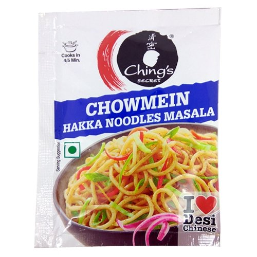 Chings Secret Chowmein Hakka Noodles Masala (Pack Of 10)