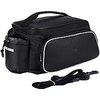 Fafada Gepäckträgertasche Wasserabweisend Fahrradtasche Satteltasche Multifunktionstasche Gepäckträger Handytasche Fahrradhalterung Lenkradhalterung