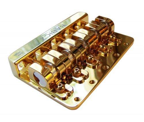Babicz fch5gd Vollkontakt Hardware, String Bass-Steg, Gold (Guitar Fender Bass Jaguar)