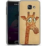 Samsung Galaxy A3 (2016) Housse Étui Protection Coque Girafe Peinture à l'eau Motif