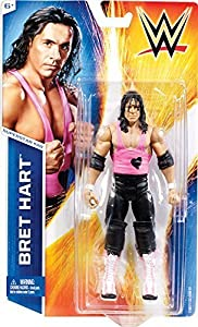 Uk Wwe Bret The Hitman Hart Series 49 #28 Basic Mattel Wrestling Action Figure