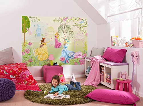 Disney Princess 'Garden' Photo Wall Mural 184 x 127 cm
