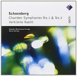 Schonberg : Chamber Symphonies Nos 1, 2 & Verklarte Nacht  -  Apex