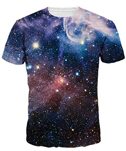9ed6b0bb7b29ee Integrity s Home Herren Tshirt Bedruckt Kurzarm 3D Damen Unisex T-Stücke  Digital Gedruckte Kurzarm Tees Tops Universum