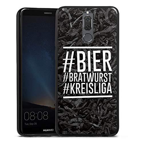 DeinDesign Slim Case Silikon Hülle Ultra Dünn Schutzhülle für Huawei Mate 10 lite Bier Beer Bratwurst