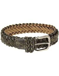 Fashiongen - Cinturón trenzado trenzado HERNANIA