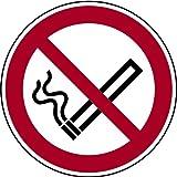 H.Klar Aufkleber Rauchen verboten No smoking 100mm