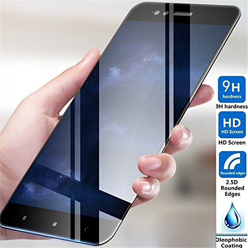 5D Curved 9H Full Screen Edge to Edge Tempered Glass Screen Protector for Xiaomi Redmi Mi Note 5 Pro