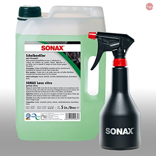 SONAX ScheibenKlar 5L 03385050 + GRATIS Sprühboy Sprühflasche 04997000
