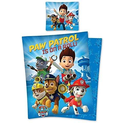 Paw Patrol Bettwäsche Kinder Bettwäsche 140x200 cm (un128)
