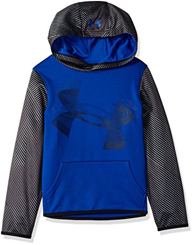 Under Armour Jungen Fleece Hoody Oberteil, Royal/Black (400), YLG Youth-fleece-sweatshirt