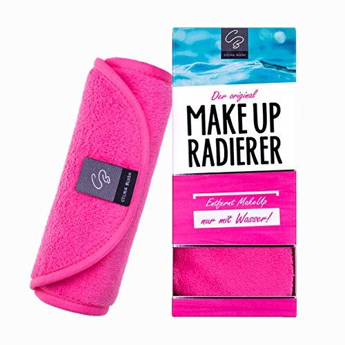 Der original MakeUp Radierer Microfaser Abschminktuch (Tuch | 1 Stück, Pink)