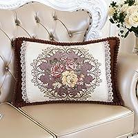 cuscini del divano europee, oblunga cuscino decorativo, soggiorno cuscino camera letto matrimoniale cuscino dello schienale lombare , coffee color