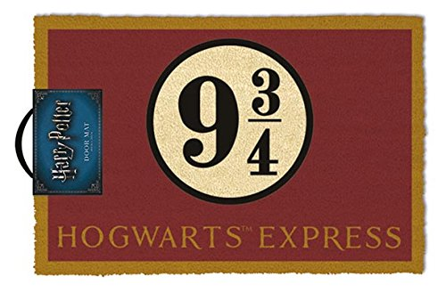 Harry Potter Hogwarts Express Felpudo, Multicolor