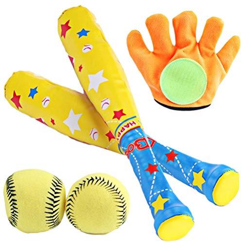 StyleBest 3-8 Jahre Alter Junge Spielzeug schläger Set Indoor und Outdoor Spielzeug Baseball Sommer Spiele Sport Strand Spielzeug bieten Kinder mit Weihnachten Geburtstagsgeschenke (4 STÜCKE)