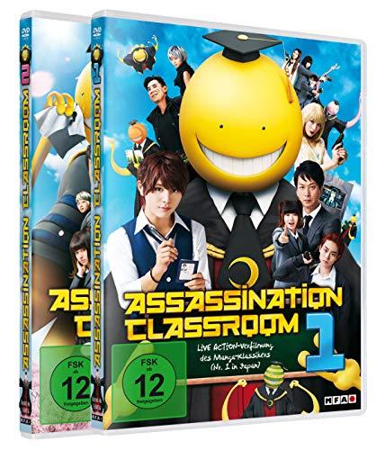 Assassination Classroom - Part 1+2 [2 DVDs]