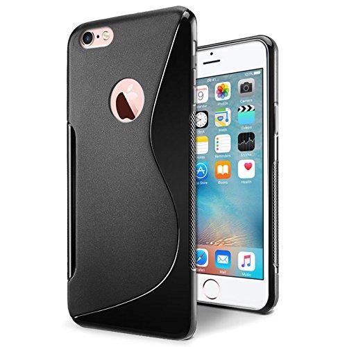 Conie iPhone 6S, 6 Hülle, [S Line Series] Soft Flex TPU Case Ultradünn Echtes Telefongefühl handyhüllen PC Bumper Cover Schutz Tasche Schale Schutzhülle, iPhone 6S, 6 (4,7 Zoll (11,9 cm)