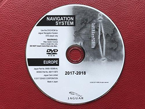 2017–2018Jaguar XF/XK und Freelander 2SAT NAV Map Update Disc Navigation Central DVD (Gps-update-disk)