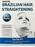 Brazilian Keratin Treatment - Home Hair Straightening Kit 100ml (TOP-UP KIT)