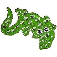 Navika–Alligator para pelotas de golf con enganche para gorra