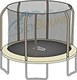 Net for 14ft Trampoline Enclosure using 6 Poles and Sleeves by Sportspower