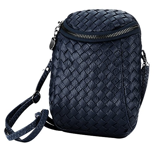 SSMK Crossbody Bag, Borsa a tracolla donna Blue