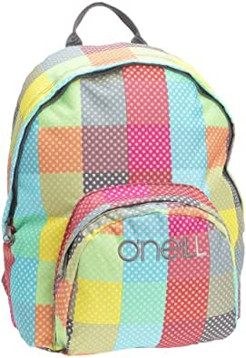 O'Neill Ac Waterfall Backpack, Sac à dos femme - Rose, Synthétique, 16 litres