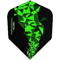 THOR-DARTS 150 Micron extra Strong Darts Flights HD-280 F2 schwarz-grün 20Set(=60Flys) oder 7Set(=21Flys) extra Lange haltbar (150mic, vergleichbar Rhino+ oder Pentathlon HD150)