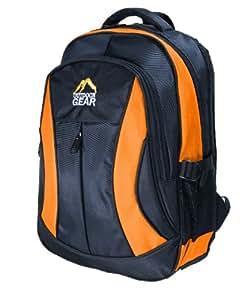 Outdoor Gear 6611 Laptop Backpack - Orange, 15.6 Inch