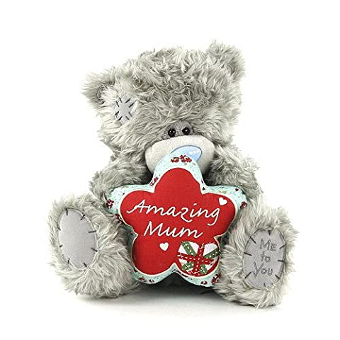 Me to You 22 cm 10-Inch Amazing Mum Bear Plush Toy (Grey)