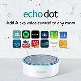 Amazon Echo Dot (2nd Generation) – Smart Speaker with Alexa – White