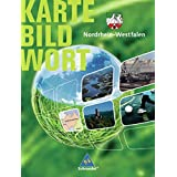 Karte Bild Wort: Grundschulatlanten - Ausgabe 2005: Schülerband Nordrhein-Westfalen