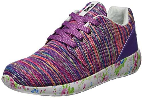 Primigi Mädchen PDC 14514 Hohe Sneaker, Viola (Viola Mult.), 37 EU (Mädchen Turnschuhe Kinder Primigi)